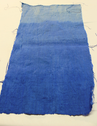 ombre dyed linen