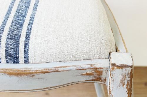 antique linen upholstery - lenvászon kárpit
