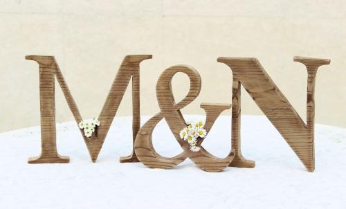 fabetűk - wood letters by renovatura