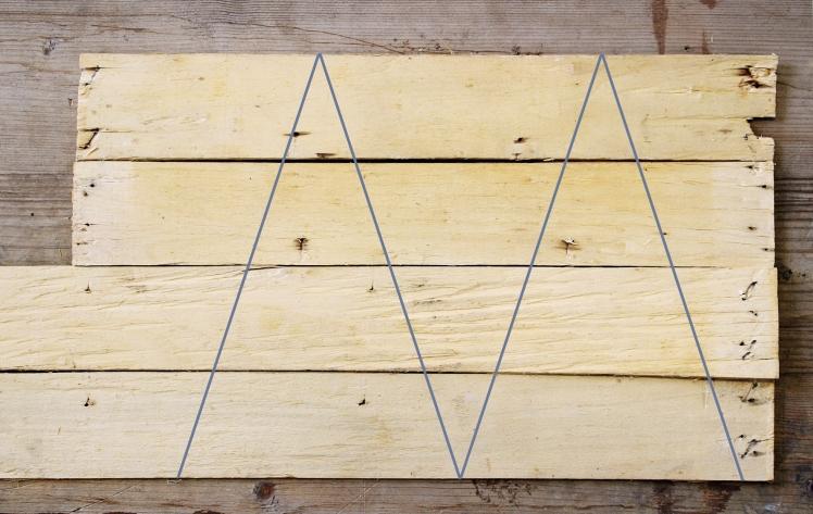 falécek-háromszög-mintával